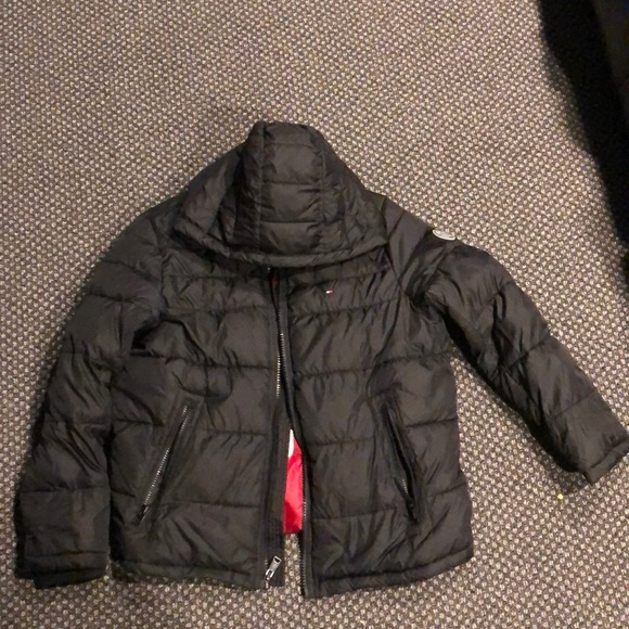 crazy price classic style of 2019 beautiful and charming Tommy Hilfiger bubble coat